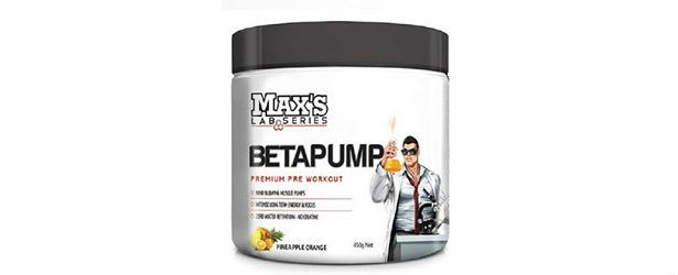 MAX'S Lab Series BetaPump Review