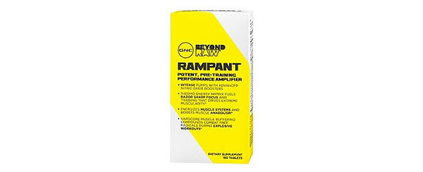 GNC Beyond Raw Rampant Review