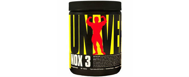 Universal Nutrition NO Supplements NOX3 Review